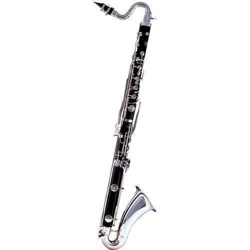 Clarinete Baixo (clarone) Bb Bakelite Hcl-580 Harmonics