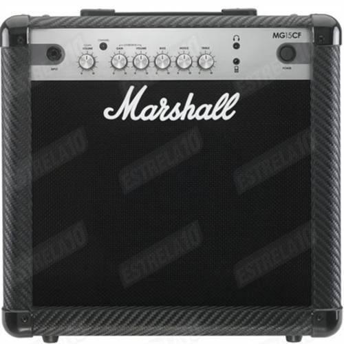 Combo para Guitarra Marshall MG15CF-B com 15W de Potência