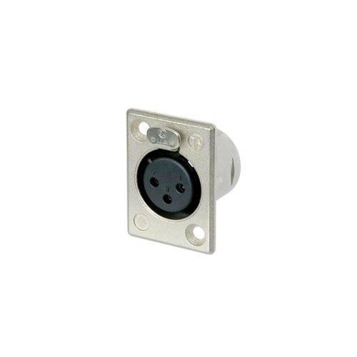 Conector de Painel Neutrik Nc3fp1 – Xlr Fêmea