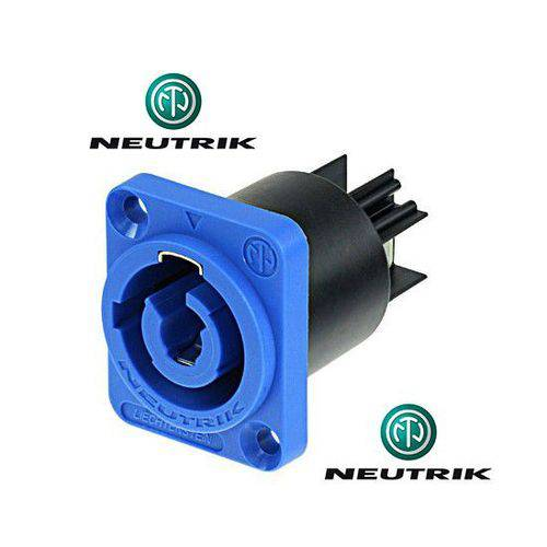 Conector Painel Powercon Neutrik Nac3mpa-1 Azul