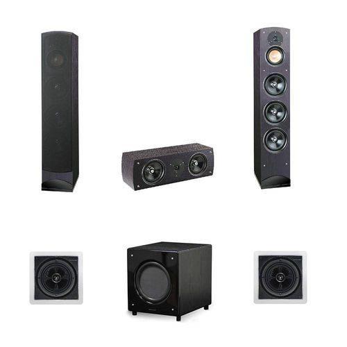 Conjunto de Caixas para Home Theater 5.1 Mod. Proxima Bq260 - Pure Acoustics