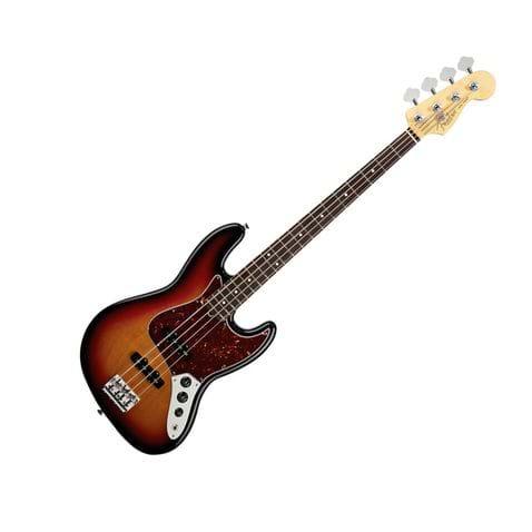 Contrabaixo 4c Fender American Standard 2012 Jazz Bass Rw - 700 - 3color Sunburst