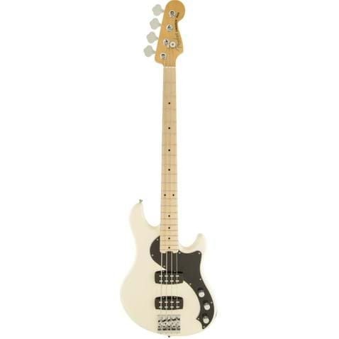Contrabaixo 4c Fender American Standard Dimension Bass Iv Hh Mn 705 - Olympic White
