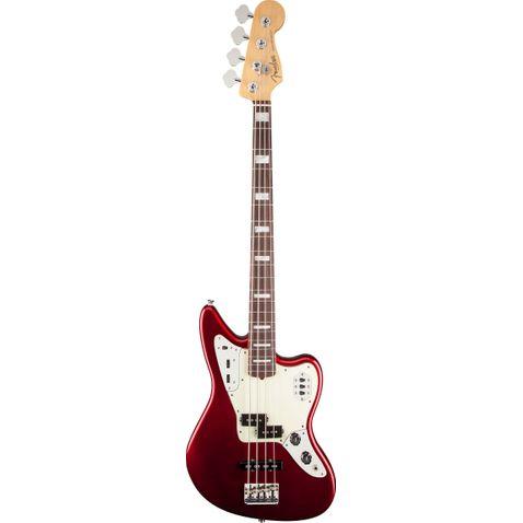 Contrabaixo 4c Fender American Standard Jaguar Bass Rw 794 - Mystic Red