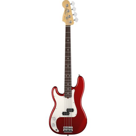 Contrabaixo 4c Fender American Standard Precision Bass Lh Rw 794 - Mystic Red