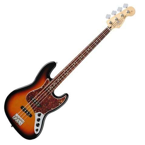 Contrabaixo 4c Fender Deluxe Active Jazz Bass . - 332 - Brow Sunburst