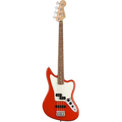 Contrabaixo 4c Fender Player Jaguar Bass Pf 525 - Crimson Red Metalic