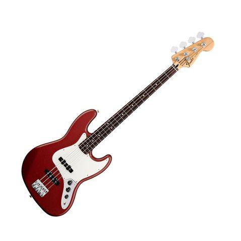 Contrabaixo 4c Fender Standard Jazz Bass Rosewood 509 - Candy Apple Red