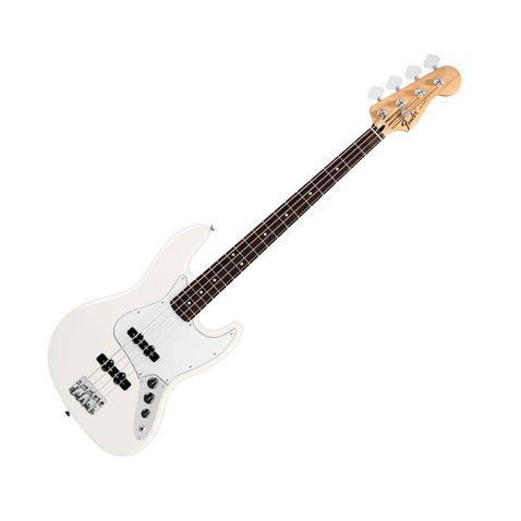 Contrabaixo 4c Fender Standard Jazz Bass Rosewood 580 - Arctic White