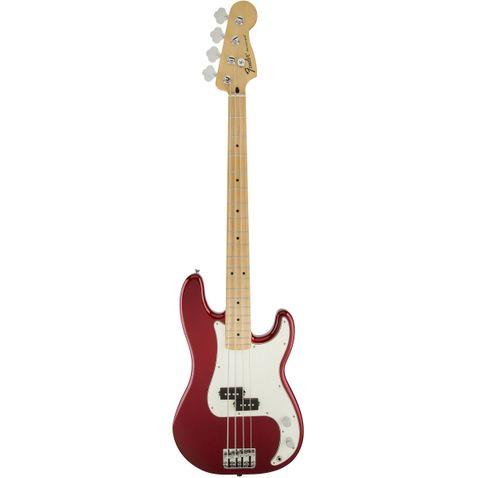 Contrabaixo 4c Fender Standard Precision Bass Maple 509 - Candy Apple Red