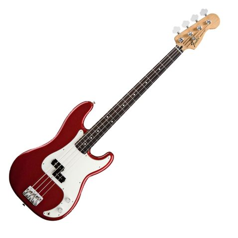 Contrabaixo 4c Fender Standard Precision Bass Rosewood 509 - Candy Apple Red