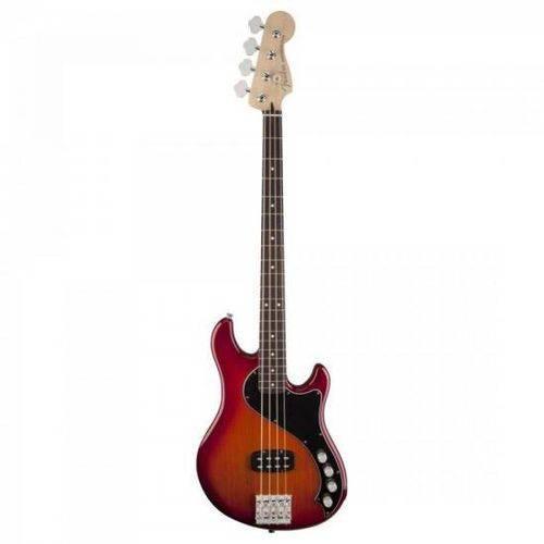 Contrabaixo Deluxe Active Dimension Bass Iv Rw Aged Cherry Burst Fender
