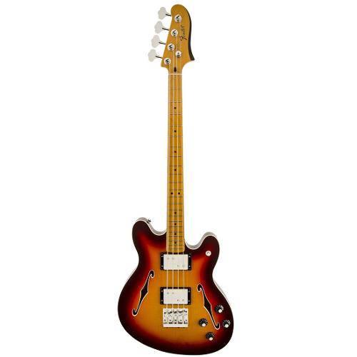Contrabaixo Fender 024 3302 - Modern Player Starcaster Bass - 531 - Aged Cherry Burst