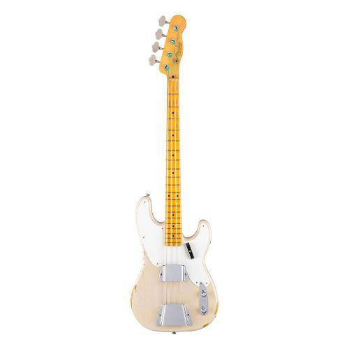 Contrabaixo Fender 151 0045 - Ltd 55 Journeyman Relic Precision Bass - 899 - Dirty White Blonde