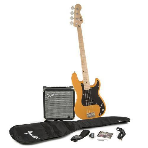 Contrabaixo Fender - Squier Affinity P.Bass Rumble 15 - Butterscotch