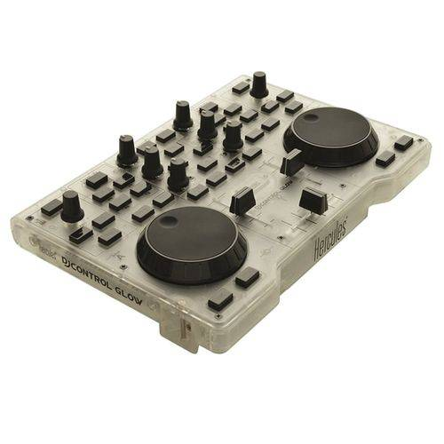 Controlador de Som Hercules 4780839 DJControl Glow USB Led Verde
