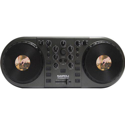 Controlador Napoli NPL-DJ3 Preta