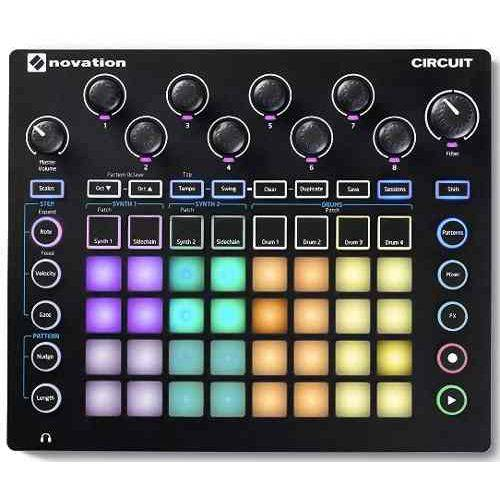 Controlador Novation Circuit Groove Box Modeling Synthesizer