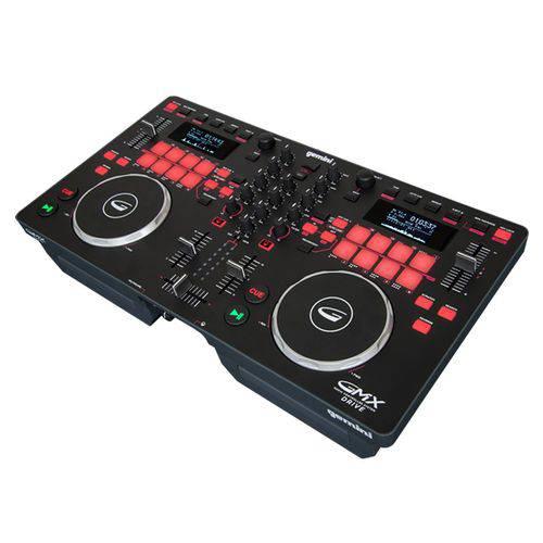 Controladora DJ 2 Canais USB Gemini GMX-Drive