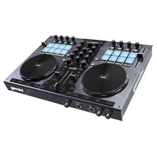 Controladora DJ 2 Canais Virtual DJ Gemini G2V