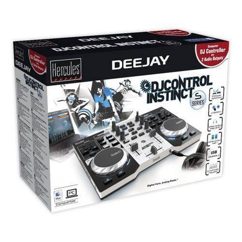 Controladora DJ Control Instinct Série S - Party Pack - Hercules - 4780846