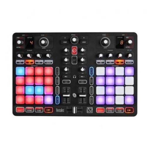 Controladora DJ Hercules Pads - P32 DJ