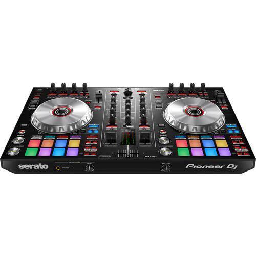 Controladora Pioneer DDJ-SR2 Portátil de 2 Canais para Serato DJ