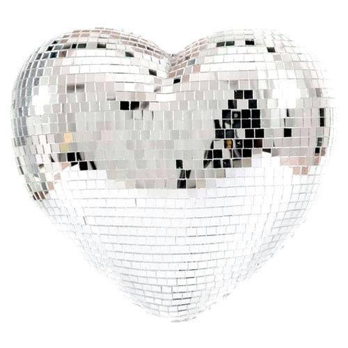 Coração Espelhado 40cm Lco 40 - Lumyna Light
