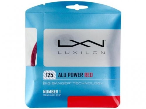 Corda Big Banger Alu Power 16l 1.25mm Red - Luxilon