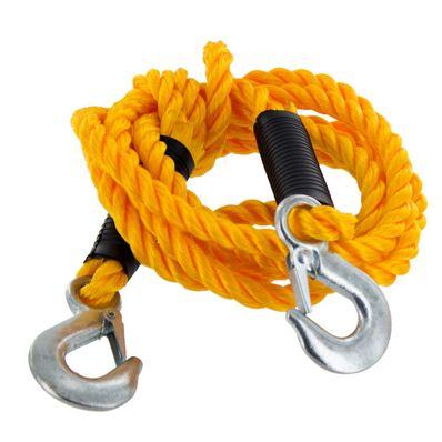 Corda de Nylon para Reboque Multiuso com Gancho Comprimento 3,50m