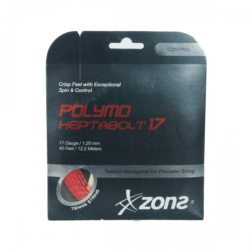 Corda Heptabolt 17 1.20mm Preta Set Individual - Zons HEPTABOLT 17 SET HEPTABOLT17SET
