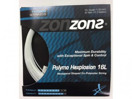 Corda Hexplosion 16l 1.28mm Preta Set Individual - Zons HEXPLOSION 16 SET HEXPLOSION16SET