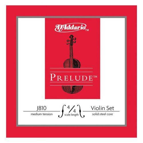 Corda Sol Violino - D'addario PRELUDE Nickel 4/4 Medium