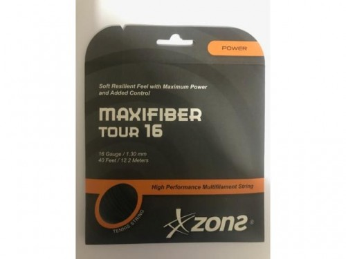 Corda Maxfiber Tour 16 1.30mm Natural Set Individual - Zons MAXIFIBER TOUR 16 MAXIFIBERTOUR16