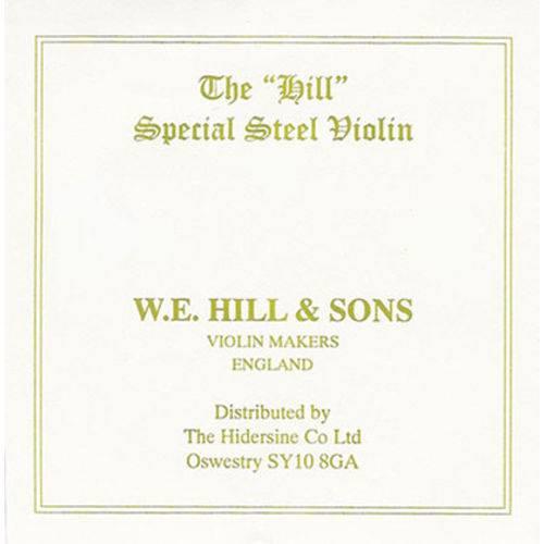 Corda Mi Hill Inglesa para Violino com Bolinha