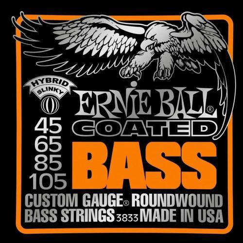 Corda para Baixo (.045/.105) Coated Hybrid Slinky 3833 - Ernie Ball