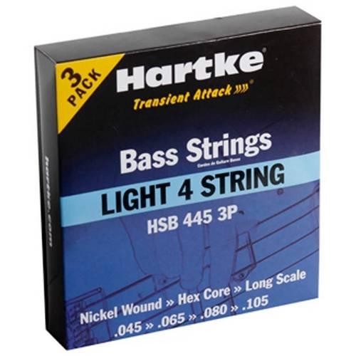 Corda para Contra Baixo 4 Cordas Hsb445 3p Hartke