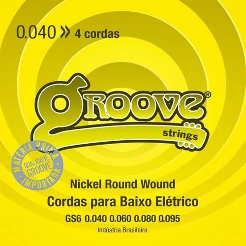 Corda para Contrabaixo 4 Cordas 040 Gs6 Groove