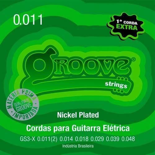 Corda para Guitarra 011 Gs3-X Groove