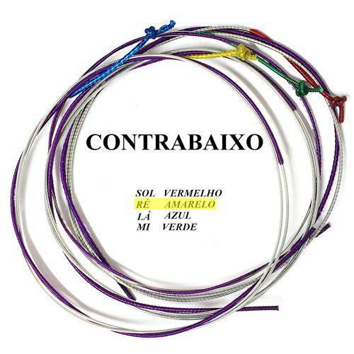 Corda Re para Contrabaixo Acústico Mauro Calixto #MC-403
