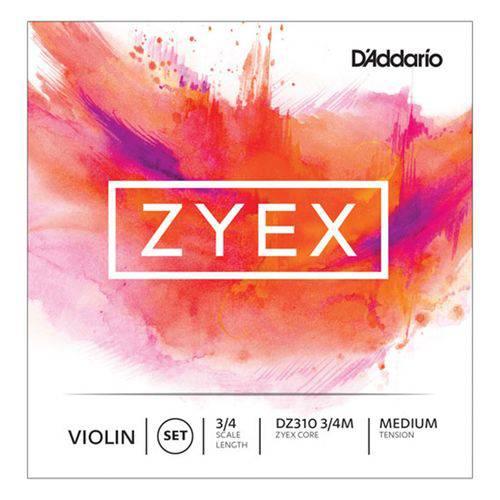 Corda Ré Violino - D'addario Zyex - Aluminio - 3/4 Medium