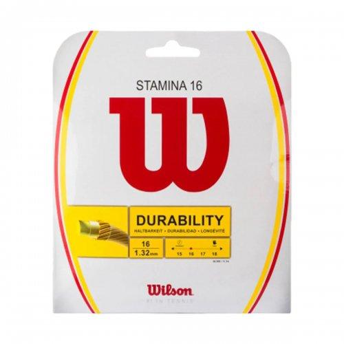 Corda Stamina 16 1.32mm Set Individual Branca - Wilson