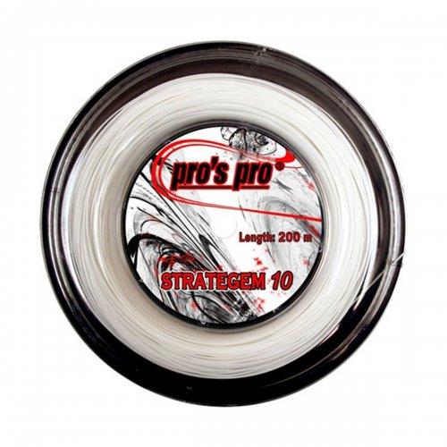 Corda Strategem 10 1.25mm Branco Rolo com 200m - Pros Pro