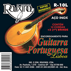 Cordas para Guitarra Portuguesa Afinação de Lisboa - Rouxinol