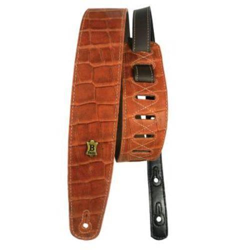 Correia Basso Vintage Vt L11 Crocodilo - Marrom