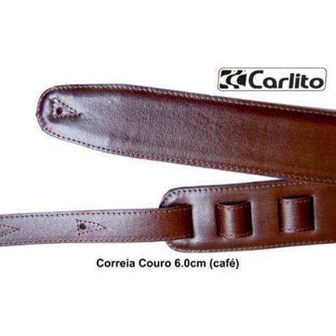 Correia Carlito Couro 6 Cm - Cafe