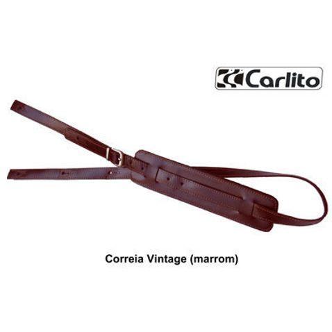 Correia Carlito Vintage . - Marrom