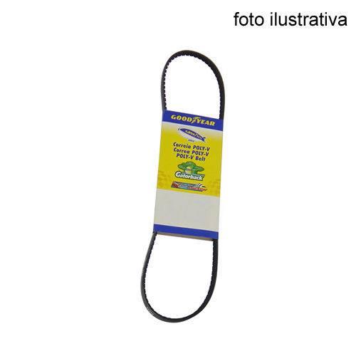 Correia em Poly-v do Virabrequim, Alternador e Bomba D'água - Goodyear - 6pk0870. - Unit. - Polo 1995-2013/gol 1995-2013