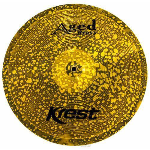 Crash Krest Aged Brass Vintage Medium 16¨ Ab16mc