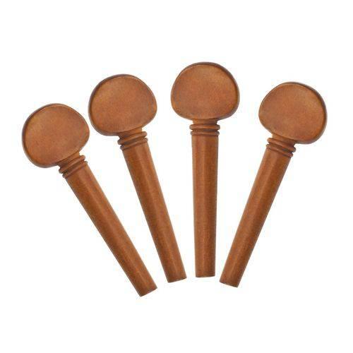 Cravelha para Violino Jogo com 4 Unidades Rosewood